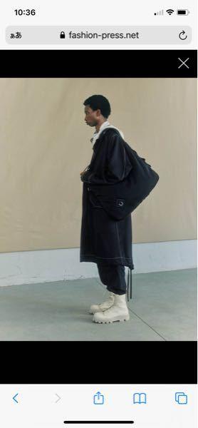 OAMC21ssのルックなんですけどオフィシャル見ても、ググってもこのステッチの入ったコートが見つからないです、、 何か情報いただけますか?(調べが浅いとかだったらすみません!)