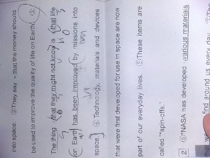 誰か丸3番の訳をお願いします。 あと自分で構文を付けてみたのですが自身ないです……