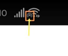 Wi-Fiを接続したら、いつもと違う絵文字?フォントが表示されました。 これは何でしょうか?