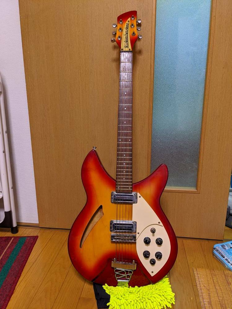リッケンバッカーのギターなんですが、 ギターについて詳しくなく、品番?やタイプなどの詳細が分かりません。どなたか詳しい方がいればこのギターについて教えてください。