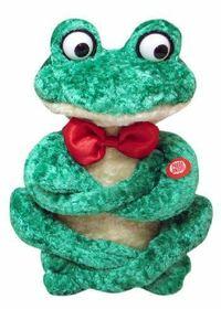 どなたかこのカエルの玩具が売っているサイトを知りませんでしょうか??昔母が買ってくれたものなのですが家事で燃えてしまって……転売や海外のサイトでも構いませんのでもし知っていたら教えて頂きたいです。