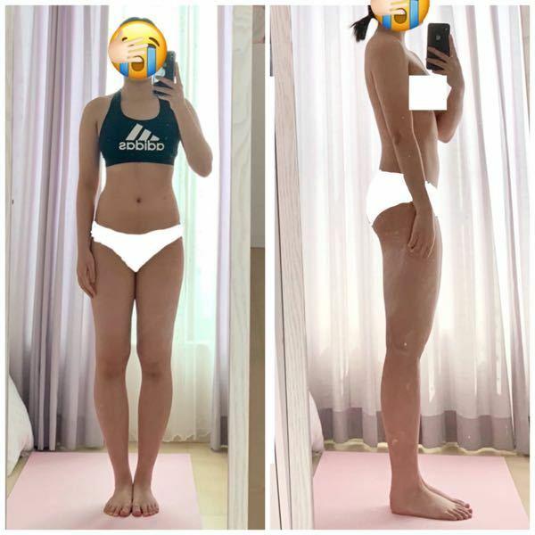 この骨格は何ですか?ミックスですか…? 骨格診断して欲しいです 47.9kgの体脂肪率26.1% 身長152cm 足のサイズ23cm 自分では上半身ストレート・下半身ウェーブかと思ってますが、足が痩せません。 太もも52cm、ふくらはぎ35cm ウエスト67cmです… お願いします