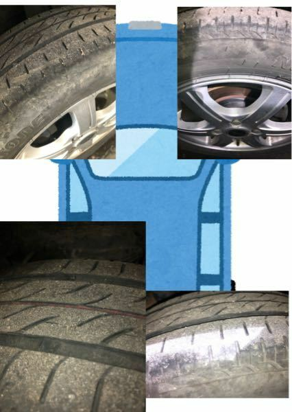 タイヤの交換時期について タントエグゼに乗ってるものですが、タイヤは交換するべきでしょうか?(夏タイヤです。) ちなみに、母から今年の4月に譲ってもらった車で今は片道40キロ通勤に使っています。 母いわく2年前に新品で買って片道20キロ通勤に使ってました。(4月から10月×2) 車に詳しい方回答まってます!