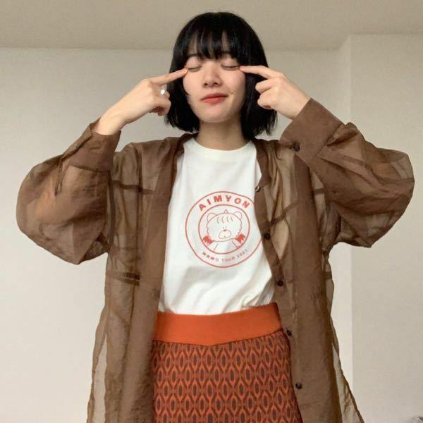 このあいみょんさんが羽織っているような(茶色の)服はなんと検索したら出てきますか?? 全く同じものじゃなくても大丈夫です。