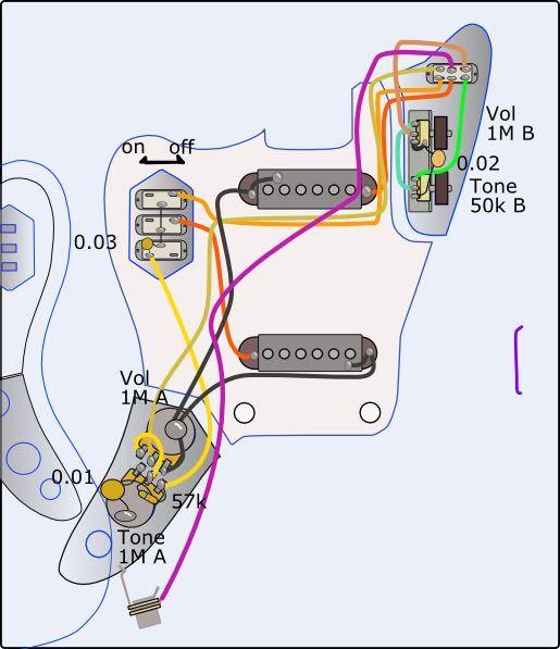 この図だとジャックにワイヤーが片方しか付いていないのですが、もう一方はどこに繋げるのでしょうか?