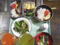 昨日59円です買ってきた小松菜を半分ベーコンソテーにしました…小松菜はどうやって食べますか?❤。