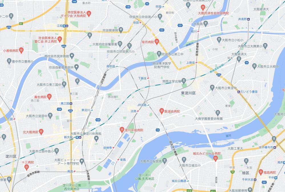 東海道新幹線(東京方面)が新大阪を出てから淡路駅を避けるように線路が通っているんですがあれってもともとそこ(避けてるように見えるとこ ろ)に何かあったんでしょうか?それとも淡路にぶつかると何かめんどくさいことがあるからああしたのでしょうか?