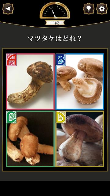 本物の松茸はどれでしょうか?