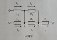 点Aと点Bにおけるキルヒホッフの法則(電流則)はi1+i2+i3+i4=i5ですか?