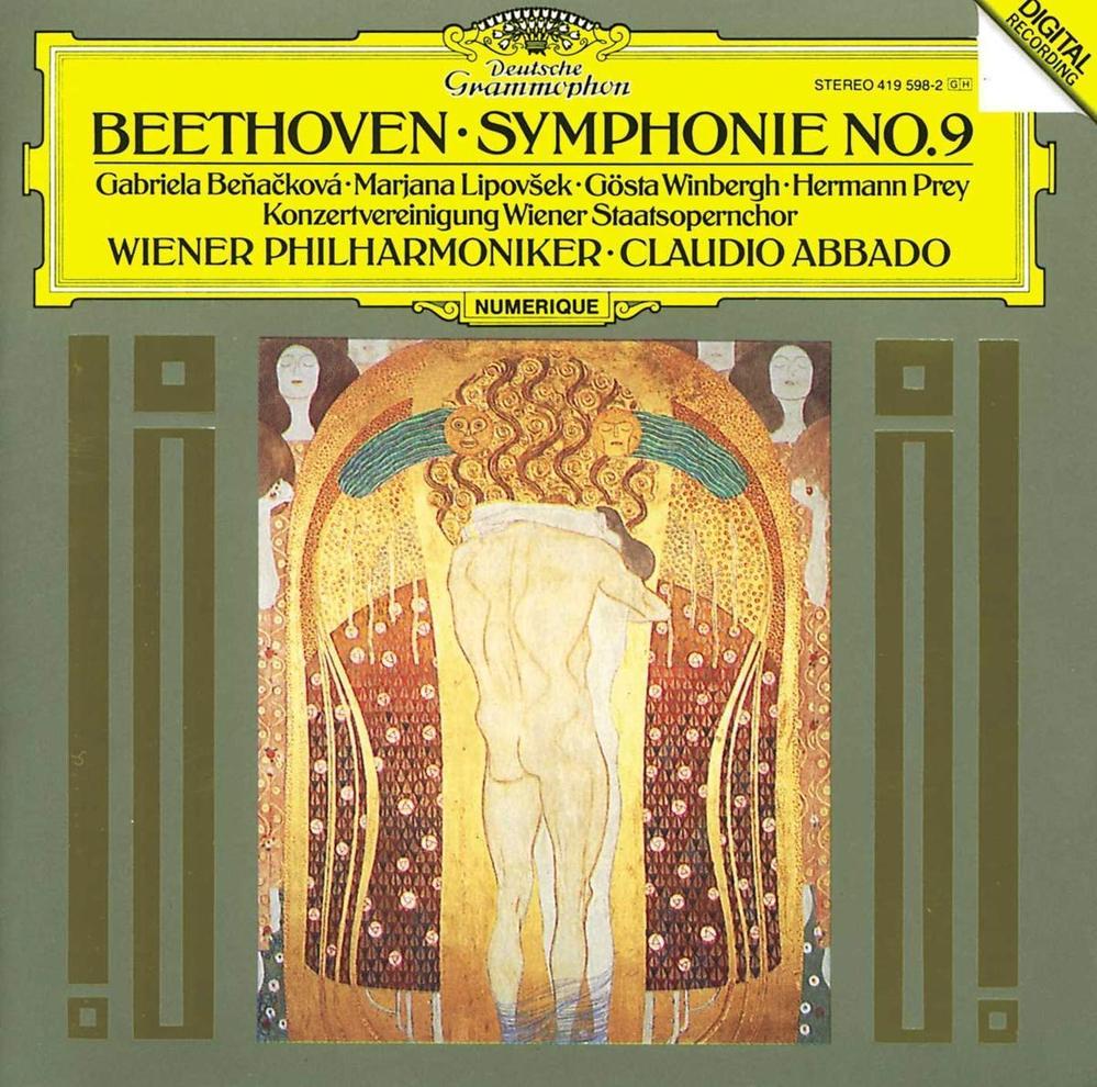 クラウディオアバドのベートーヴェン第9番で、 Beethoven ベートーヴェン / 交響曲第9番 アバド&ウィーン・フィル 輸入盤 / Wiener Philharmoniker, Hermann Prey, Marjana Lipov?ek, Gabriela Be?a?kova, Gosta Wi / [CD] ですが、少し異色で異彩でしょうか。無理に聴く必要はないと思いますが。一般的なクラシックとしては少し独特でしょうか。ポピュラー風というか。私は好きですが。