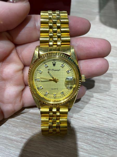 この時計のメーカー名を教えてください