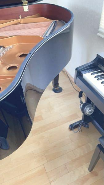 明日ピアノの調律師さんがこられますが、グランドピアノの横に電子ピアノを置いているんですけどこれって邪魔になりますか?…