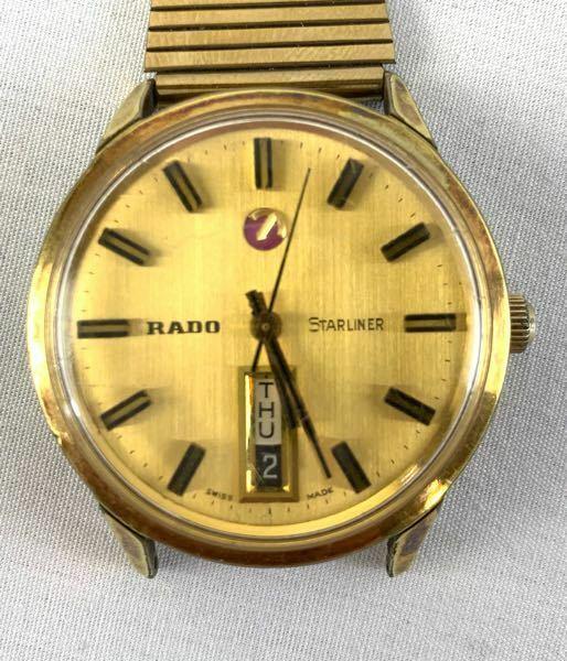 画像の時計についてです。 竜頭が1段階しかなく日付の変更ができないのですが24時間進める以外にこの時計の日付変更はどうしたらできるのですか?