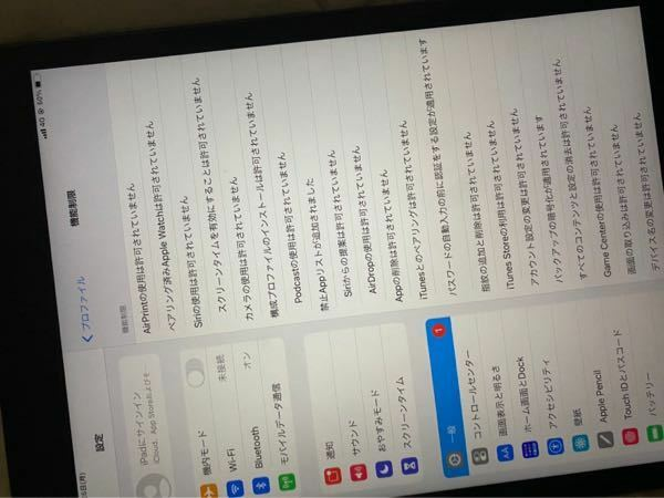 学校から貰ったiPadにこーでてくるんですが、普通のiPadと同じように使えるようにする方法ってありますか?手段は問いません