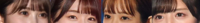 坂道パーツクイズ其の329 画像の現役または元坂道メンバーは  左から順に誰と誰と誰と誰でしょう?