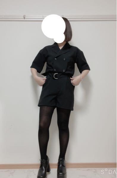 この服、変ですか?(T_T) 上にライダースを羽織ろうと考えてます…