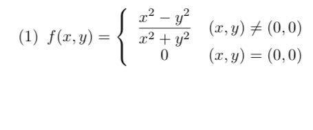 分かる方に教えて頂きたいです。 答えと途中式をお願いします。 宜しくお願いします。 問題内容は、 関数 z = f (x, y) が次の式で定義されているとき,f (x, y) が (0, ...