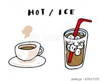 コーヒーはホットとアイスどちらが好きですか?