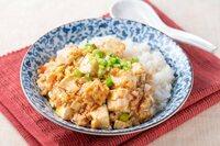 麻婆豆腐丼ともう一品。何がいいですか?