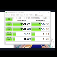 windows10でベンチマークテストをしたのですが数字が低い気がします なぜでしょうか
