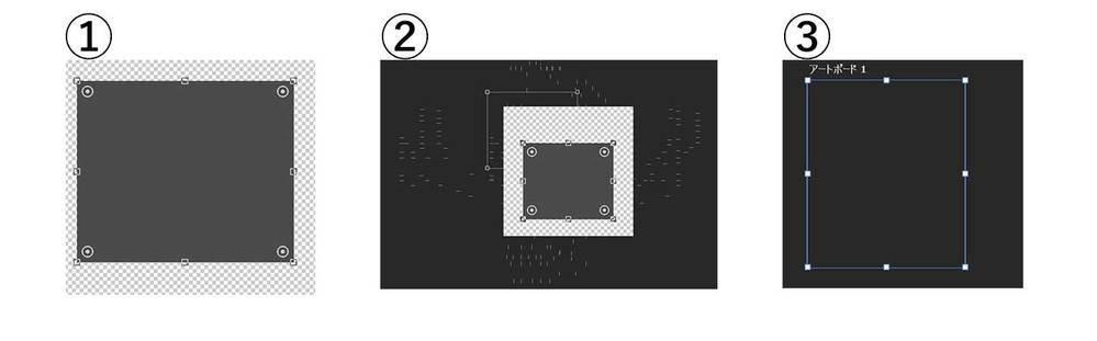Photoshopで起きている現象について質問です。 ※バージョンは、「Photoshop 22.3.1」です ※PCはWindowsを使用しています 先週から、Photoshopでシェイプを作成すると、 ↓図のようなバグ?が起こります。 ①シェイプの枠がグレー(通常は青) ②シェイプを動かすと、辿ったところに跡(線)がつく ③アートボードを「透明」にすると、背景が透明になる(通常は市松模様...