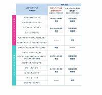 このスタンバイパスの表ってどこで最新版が見れますか? 東京ディズニーリゾート ランド シー アトラクション GW