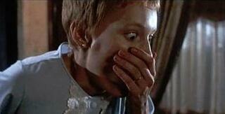 【てんぷら☆映画復活祭】Scene#366 皆さん、映画はお好きですか? このワンシーンで ひとつ素敵なボケをいただけますか? (・▽・) 『ローズマリーの赤ちゃん』より