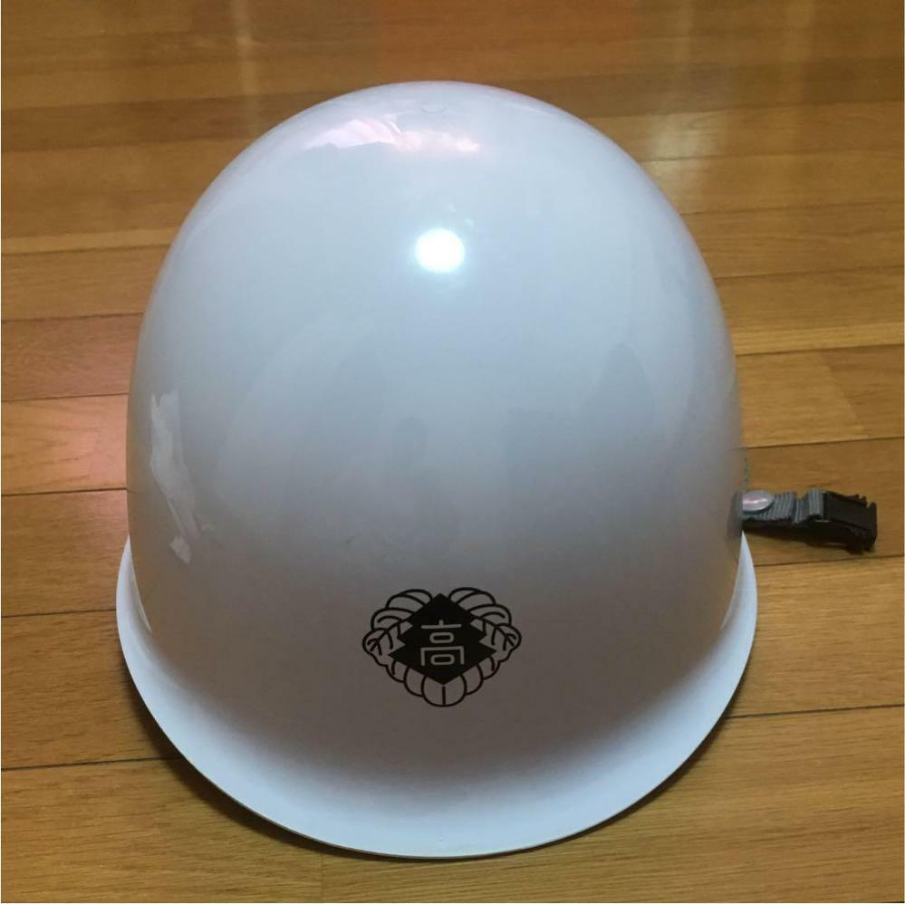 高校でヘルメット着用は珍しいですか。
