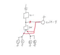インジケータとウインカーについて教えてください(ビラーゴ250後期です) 下手なイラストで申し訳ないです… 現状こんな感じで配線されてます。純正なのですが、この状態だとインジケータとウインカーが交互点滅しています。なぜこの配線で交互点滅になるのですか?    また、赤ラインに配線を引き直す(スイッチとウインカーの間)と同時点滅になりますか?    ウインカーをLED化しようと思ったの...