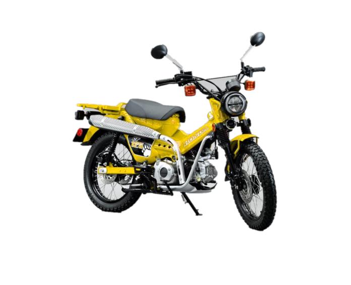 大人気のCT125のイエローはいつ出ますか? 黄色がカッコいいです。PCXの黄色も出して欲しいです。