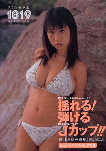 夏目理緒ちゃんのバストは、デビュー当時(2003年ぐらい)圧巻でしたか? 話題性や注目度もありましたか?