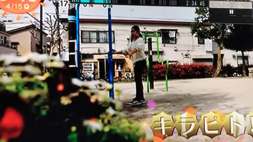 めざましテレビの「キラビト」に出てきた写真を添付しましたが、どこの何て言う公園ですか?