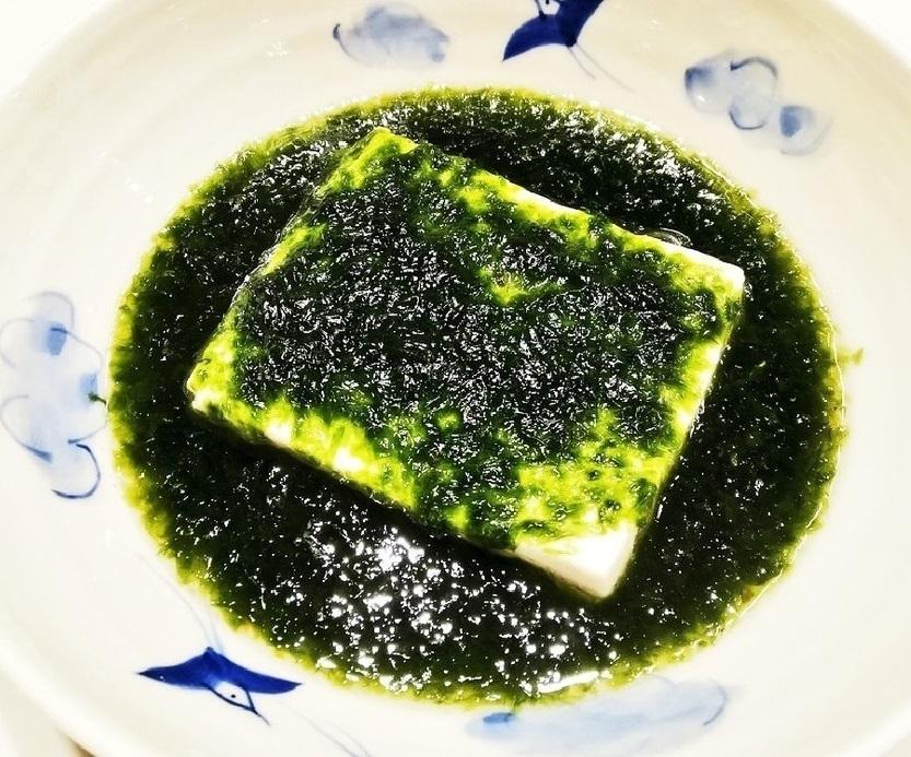 クリスマスには青のり豆腐を食べれば アミノ酸も摂取できて クリスマスカラーも楽しめますか??