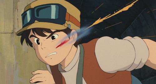 弾丸が頬をかすめ一筋の傷を負ったことありますか?