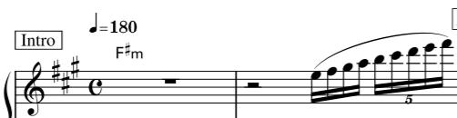 このように音が連続して1音ずつ上がっていくのって、音楽用語で何と言うのでしょうか。