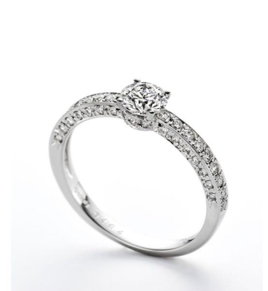 横にもメレダイヤが入った指輪って強度的にどうでしょうか? 材質は プラチナ、ダイヤです。
