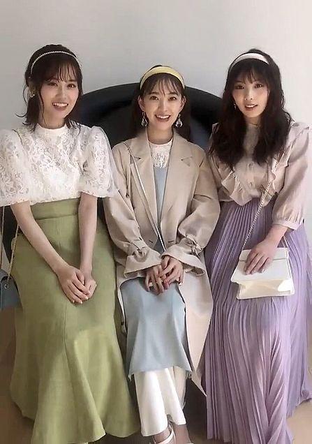 乃木坂46 この3人のうちどれが可愛いと思いますか。