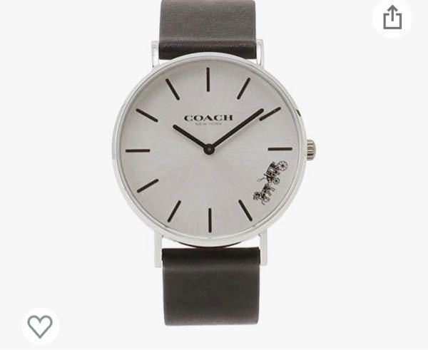 就活で腕時計必要だよと言われ用意しようとしているのですが、ブランドブランドしているものは駄目と言われました。 私は写真のCOACHの物しか持っていないのですがこれでも大丈夫でしょうか?個人的には...
