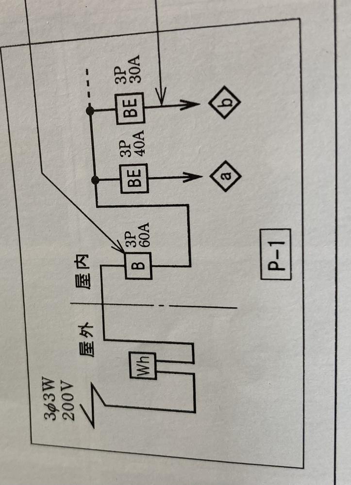 これの対地電圧はどこから読み取れますか?