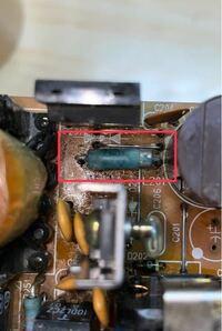 電子部品に詳しい方に質問です。 写真の部品の名称について教えて下さい。