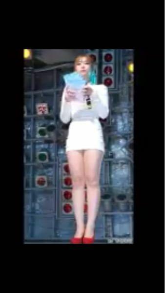 画質が悪いのですが、この女性は誰かわかりますか? K-POPのアイドルだと思います。