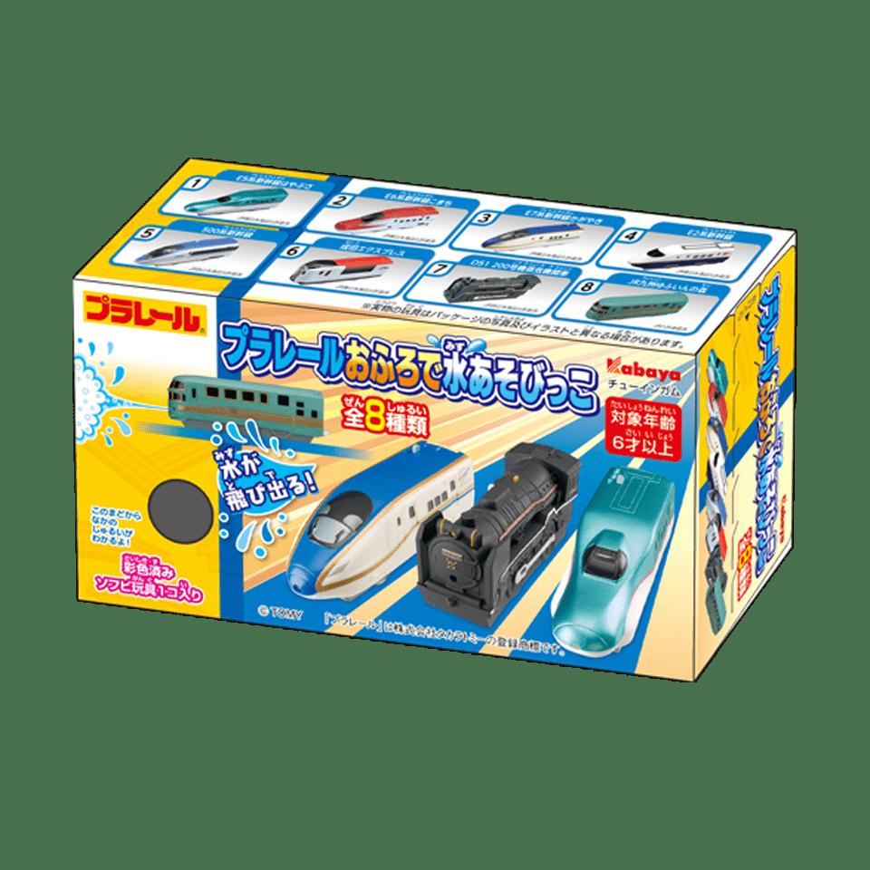 カバヤ「プラレールおふろで水あそびっこ」という玩具を探しています。 ヨドバシnetでも販売ありますが、中身を選んで買いたいので実店舗での購入を希望しています。 東京都内で取扱のあるお店ご存知の方...