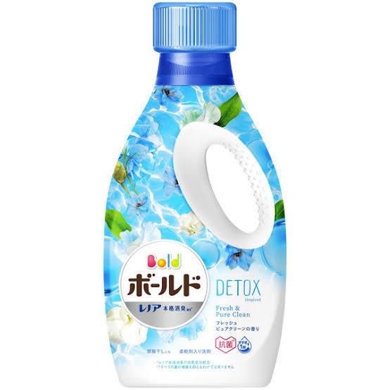 洗濯洗剤何使ってますか?! 自分はボールドの青使ってます。