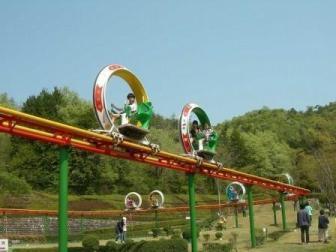 岐阜県にある『岐阜ファミリーパーク』という施設のこどもゾーン内に サイクルモノレールという乗り物があります。 子供がこの乗り物に乗りたいと言っています。 三重県在住で今のご時世、県外への移動を自...