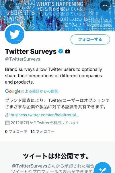 Twitterのこれ公式ですか?