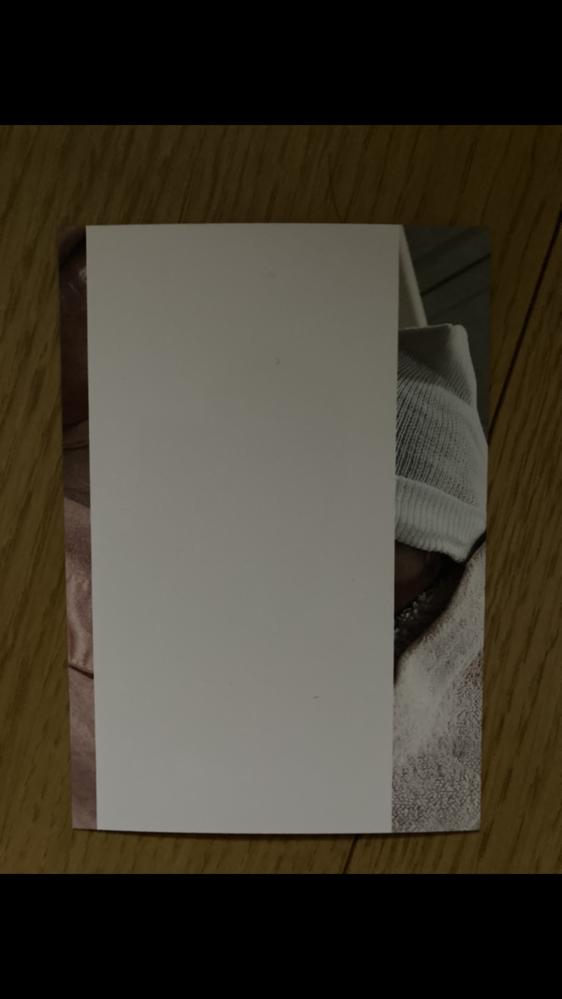 TS5330プリンターにて、 添付のように真ん中のみ印刷されません。 パソコンから印刷するとこうなり、携帯からだと通常どおり印刷できます。 解決方法教えてください。。
