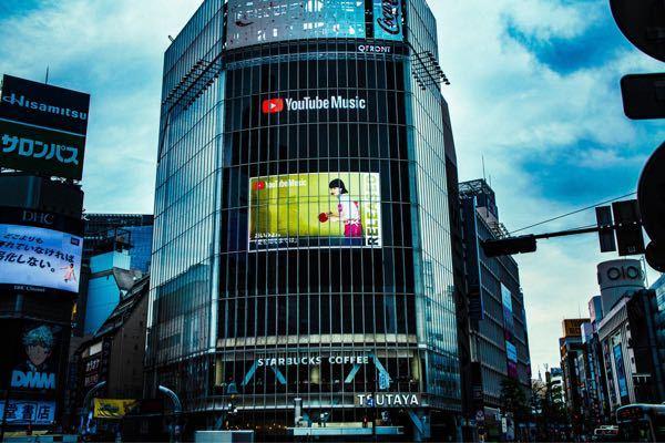 こういう所の広告(特にこの渋谷のところ)って何分置きにくらいに出てくるものですか?