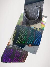 海老蔵さんが、持ってる ヴィトンの鞄で、スイッチを入れないと黒の鞄 スイッチを入れると、ヴィトンロゴが色々な色に光る鞄です。 この鞄の名前 分かるかた教えて下さい。