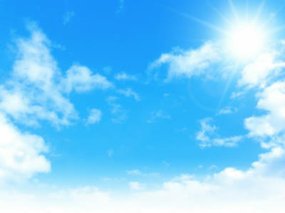 こんにちは(^o^)/ . 今日は晴れてますか?
