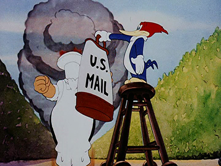 なぜアメリカは敗戦直後にこんなアニメを作っていたんですか? ウッディウッドペッカー おかしな外交官